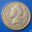 Dominican Republic ½ peso 1968