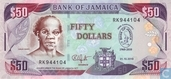 Jamaica 50 Dollars 2010 - P88 commemorative