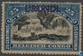 """Landscapes and various subjects Belgian Congo in 1915, marked Urundi \""""type Tombeur\"""""""