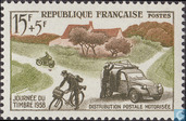 Postage Stamps - France [FRA] - Mail transport