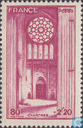 Postage Stamps - France [FRA] - National Aid- Cathedrals