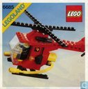 Lego 6685 Fire Copter 1