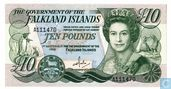 Falkland Islands 10 Pounds 1986