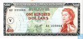 East Caribbean Currency Administration 100 Dollar Saint Vincent 1965
