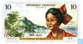 French West Indies 10 Francs (1964)