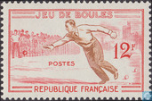 Postage Stamps - France [FRA] - Traditional games