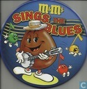 M&M's sings the Blues - Blauw blikje