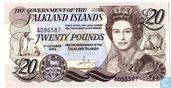 Falkland Islands 20 Pounds 1984