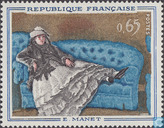 Timbres-poste - France [FRA] - Tableaux