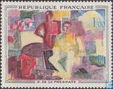 Postage Stamps - France [FRA] - Paintings