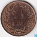 Coins - the Netherlands - Netherlands 2½ cents 1894