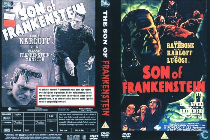 Son of Frankenstein - DVD - Catawiki
