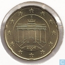 Coins - Germany - Germany 20 cent 2004 (D)