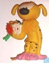 Marsupilami with flowers