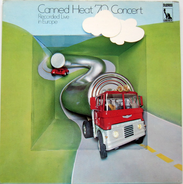 Canned Heat  - LP '70 Concert
