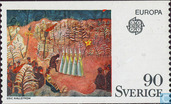 Postage Stamps - Sweden [SWE] - Europe – Paintings