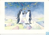 voor het kind-Pinguins on the rocks