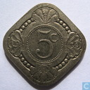 Coins - the Netherlands - Netherlands 5 cent 1934