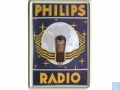 Philips Radio - Reclamebord van blik