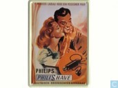 Philips Philishave - Reclamebord van blik