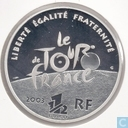 "France 1½ euro 2003 (PROOF) ""100th Anniversary of the Tour de France-Arriving at the Champs-Élysées"""