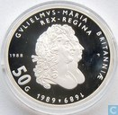"Coins - the Netherlands - Netherlands 50 gulden 1988 (PROOF) ""300th Anniversary of King William and Queen Mary"""