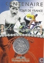 "Frankrijk ¼ euro 2003 (folder) ""100th Anniversary of the Tour de France"""