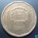 Coins - Dominican Republic - Dominican Republic 1 peso 2008