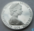 British Virgin Islands 1 dollar 1974 (M)