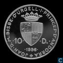 "Andorra 10 diners 1996 (PROOF) ""Wildlife Protection"""