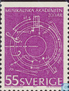 Timbres-poste - Suède [SWE] - 200 ans Royal Academy of Music