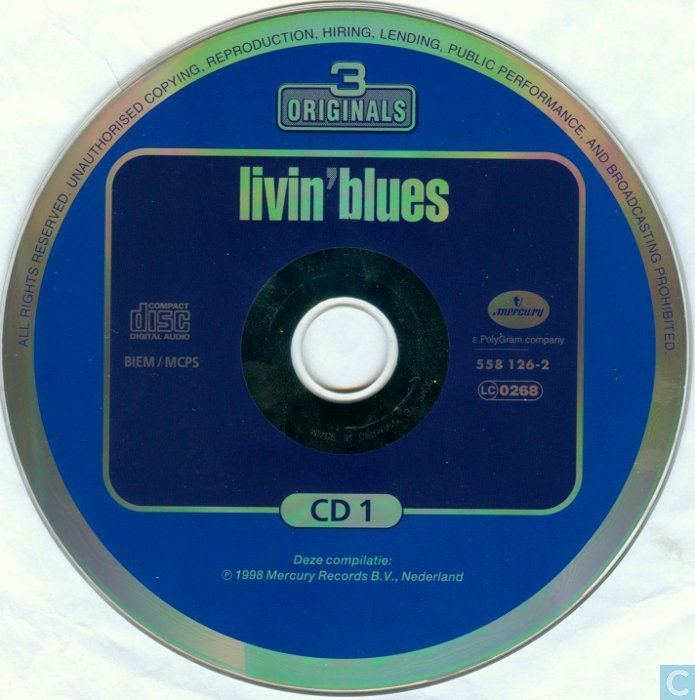 livin blues hell's session