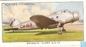 Swissair ; Clark G.A. 43 ( Switzerland )