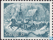 Postage Stamps - Sweden [SWE] - Christmas Traditions