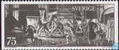 Postage Stamps - Sweden [SWE] - Swedish art