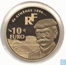"France 10 euro 2003 (BE) ""Athènes 1896-2004"""
