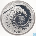 "France 1½ euro 2003 (PROOF) ""sleeping beauty"""