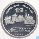"France 1½ euro 2003 (PROOF) ""Athens 2004 - lancer"""