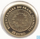 "France 10 euro 2003 (PROOF) ""200 years Franc Germinal"""