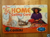 Home Calling Card