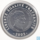 "Frankrijk 1½ euro 2003 (PROOF) ""200th anniversary of the Franc Germinal"""