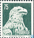 Postage Stamps - Sweden [SWE] - White-tailed eagle
