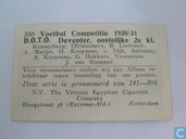Album pictures - The Vittoria Egyptian Cigarette Company (Rotterdam) - D.O.T.O.Deventer, Oostelijke 2e kl. 1930