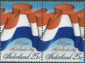 400 years Dutch flag