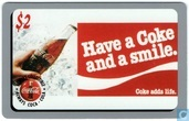 Have a Coke and smile