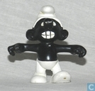 Furious Black Smurf (great mold)