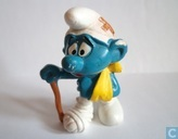 Injured Smurf
