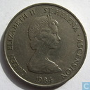 Sint-Helena en Ascension 10 pence 1984