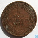 Dhar ¼ anna 1887 (copper)