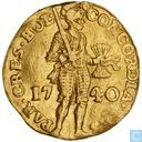 Holland ducat 1740